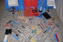 Komplet alata za ostecenje auta od grada